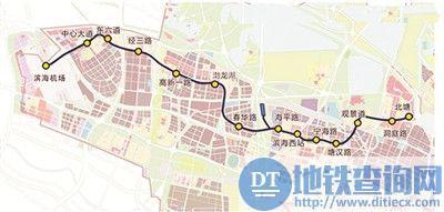 途径中新天津生态城的地铁有哪些?中新天津生态城地铁换乘攻略