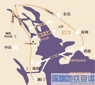 接规划建设的中山至开平高速公路和中山东部外环高速公路,全长约24