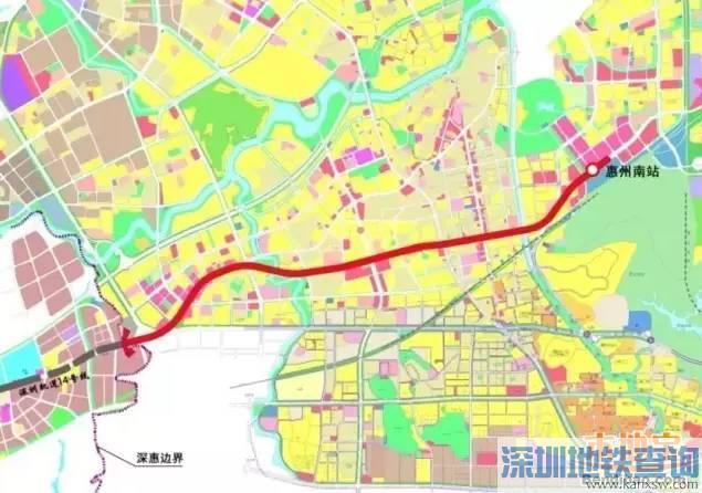 深圳地铁14号线规划(通车时间+最新消息+线路图+站点)
