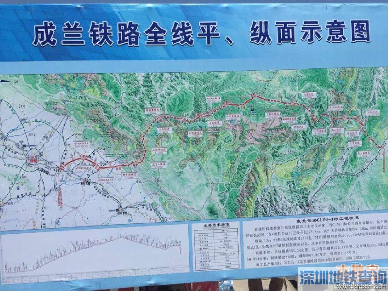 成兰铁路线路图 成兰铁路线路走向 - 哈尔滨火车站