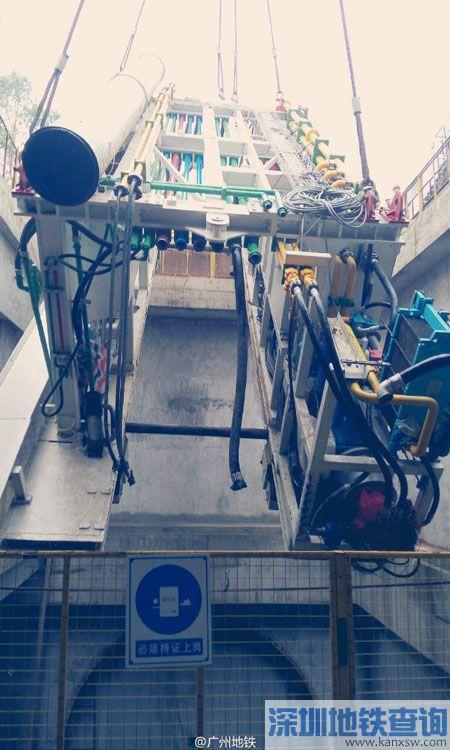 广州地铁8号线北延段2016年7月进展:土建完成27%