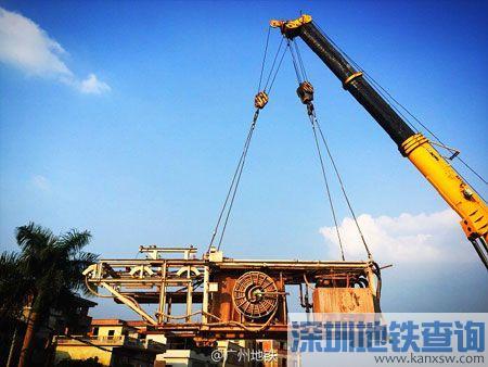 广州地铁知识城支线2016年7月进度:土建完成60%