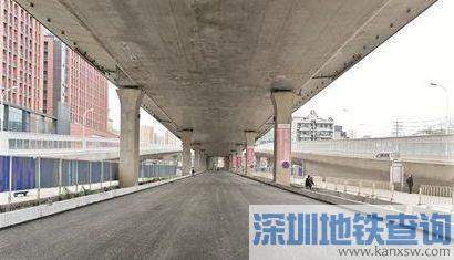 楚平路至民族大道BRT廊道月底通行