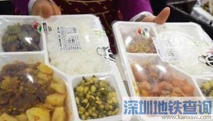 上海铁路局高铁新推15元早餐 旅客可提前手机预订