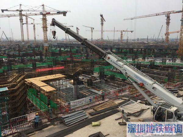 北京新机场设计效果图 北京新机场施工最新现场图曝光双层通道高铁穿地下