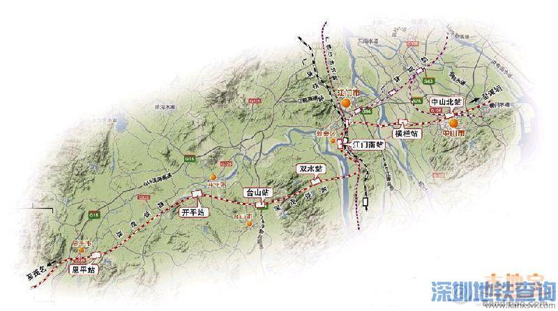深茂铁路是广东西部沿海铁路的重要组成部分,项目东起广深客运专线