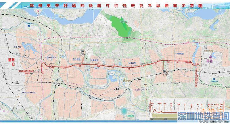 郑开城际铁路延长线什么时候开工?开工时间力争年底前