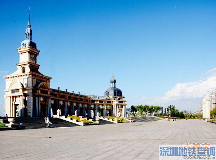 哈尔滨索菲亚广场地址在哪里?附近有哪些公交线路、地铁站点?