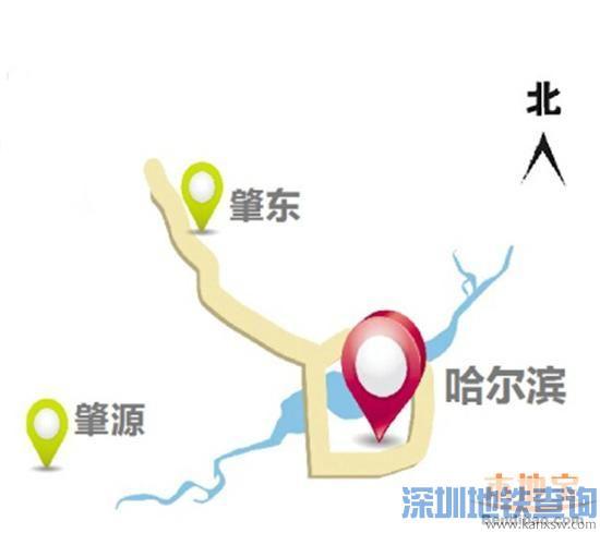 哈尔滨至肇源高速公路线路图、最新进展
