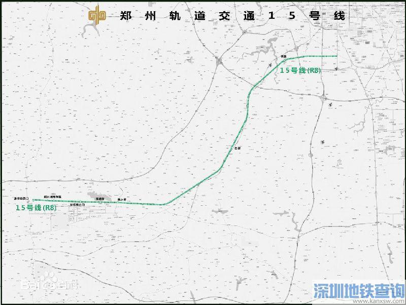 郑州地铁15号线规划图