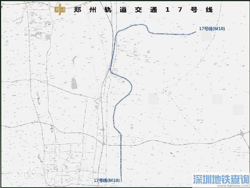 郑州地铁17号线站点(供参考):商贸次中心,双鹤湖等.