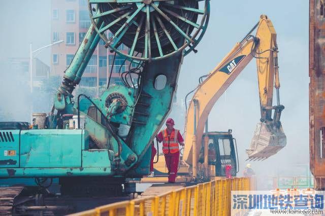 """深圳地铁3号线东延段开工 坪地2020年迈入""""有轨时代"""""""