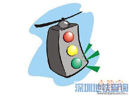 深圳交警开始查处冲绿灯(关键词解读+抓拍路口)