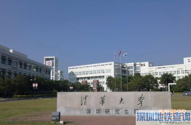 深圳地铁7号线西丽湖站位置地图、周边建筑物、公交换乘站点线路