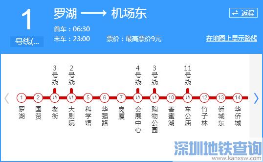 地铁1号线行车间隔再压缩 国贸首班车时间提前21分钟
