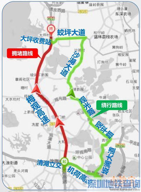 2016国庆十一深圳出行超强指南(拥堵地点+绕行方案+口岸+景点)