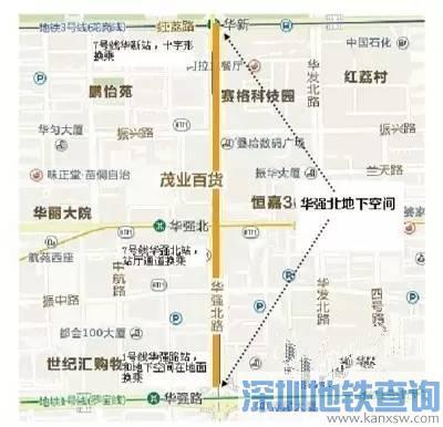 深圳华强北地下城攻略!4地铁线汇聚42个出口畅玩