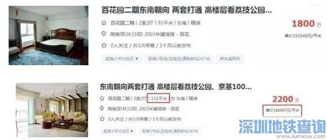 深圳学位房均价逼近20万/平!让家长们边追边哭