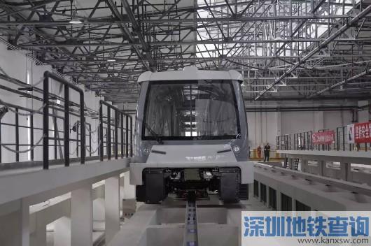 8号线三期首列新车今抵沪 采用先进的无人驾驶技术