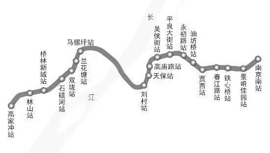 2017南京在建、即将开建的地铁线路一览(最新消息+通车时间)