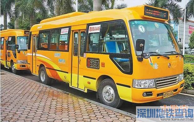 宝安接驳深圳地铁11号线的6条微巴一览