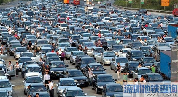 春节出行预测报告:这些高速最爱堵车