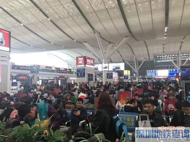 2017春运深圳东站分时段进站 提前2小时到站即可