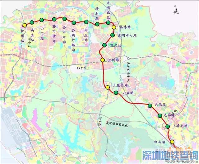 2017年深圳在建地铁6、8号线最新进展