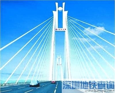 武汉沌口长江大桥2017年底建成通车 江城大道到江夏仅10分钟