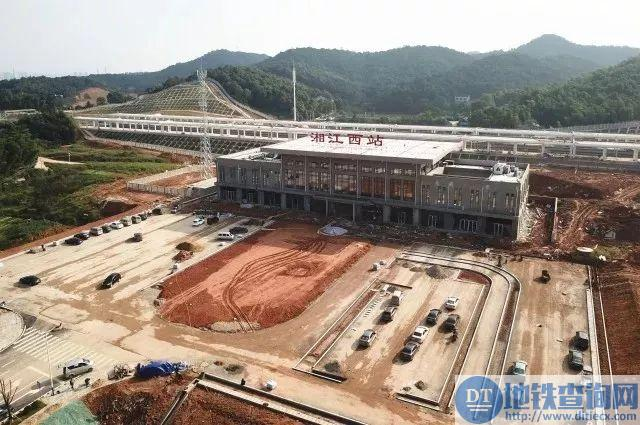 长株潭城际铁路湘江西站2017最新进展