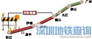 开阳高速公路将扩建为8车道 项目建设工期预计4年