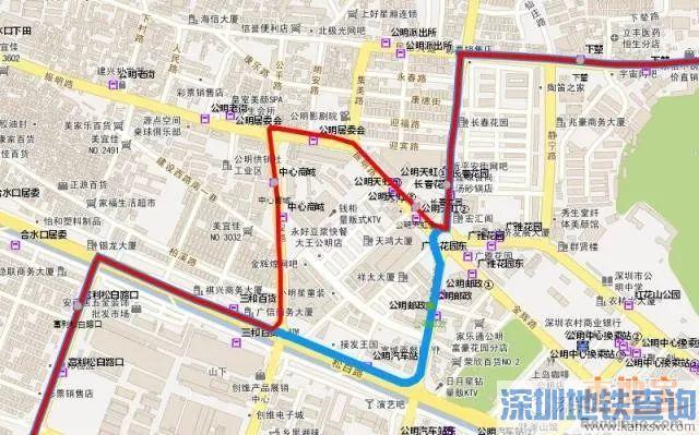 深圳公交723等22条线路10月25日起调整途经道路及部分停靠站点