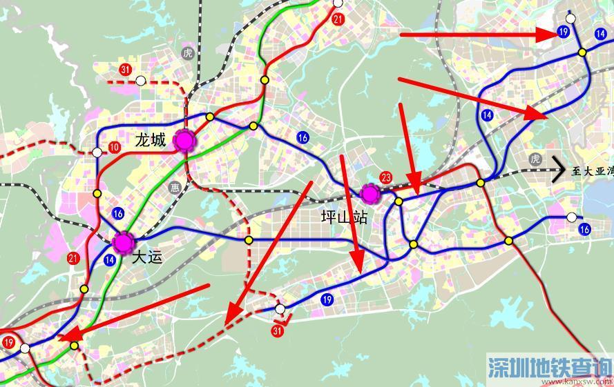 深圳地铁19号线拟西延至龙岗横岗 对接14号线、18号线