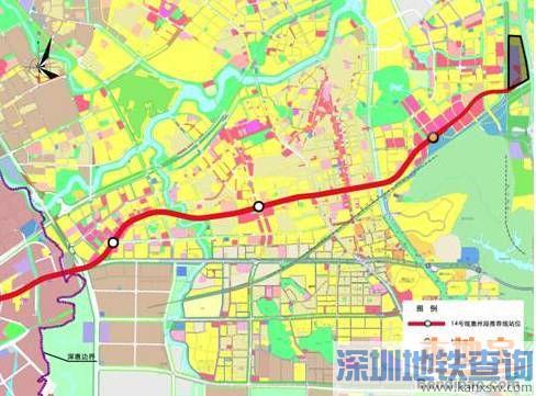 深圳地铁14号线惠州段全长约8.1公里拟设置4站站点名称确定