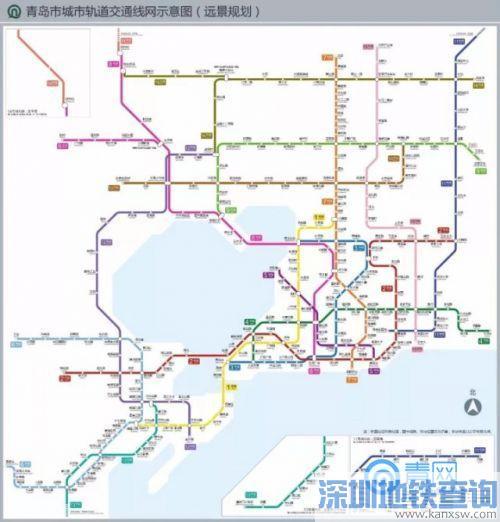青岛地铁16号线换乘站点名单一览 可与青岛地铁哪些线路换乘?