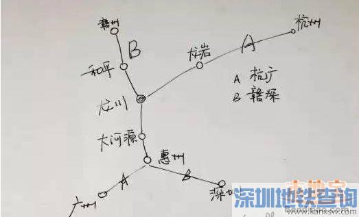 河源龙川至福建龙岩高铁拟开建 深圳至梅州将来高铁只需90分钟