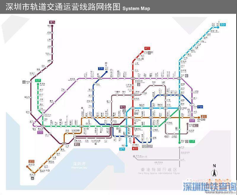 深圳地铁票价收费标准、老人小孩学生军人残疾人最新优惠乘坐政策