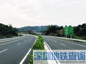 广东这6条高速公路2017年12月28日开通 速度来看有去你家的没?