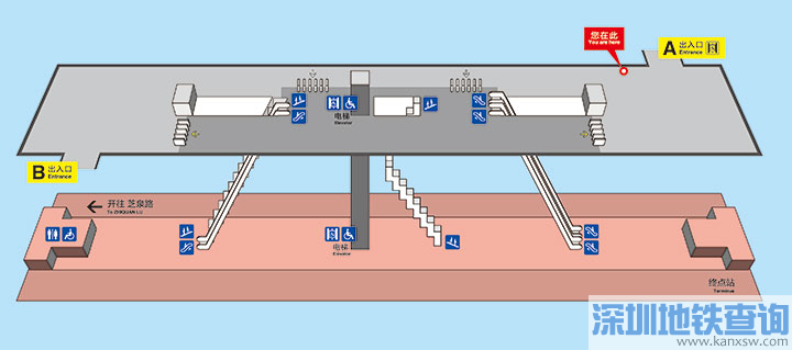 青岛地铁2号线李村公园站各出入口位置附近公交站点、公交线路、换乘攻略一览