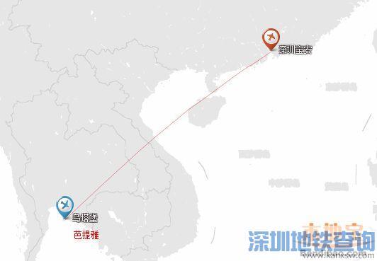 深圳机场12月将新增至洛杉矶圣彼得堡等6条国际航线