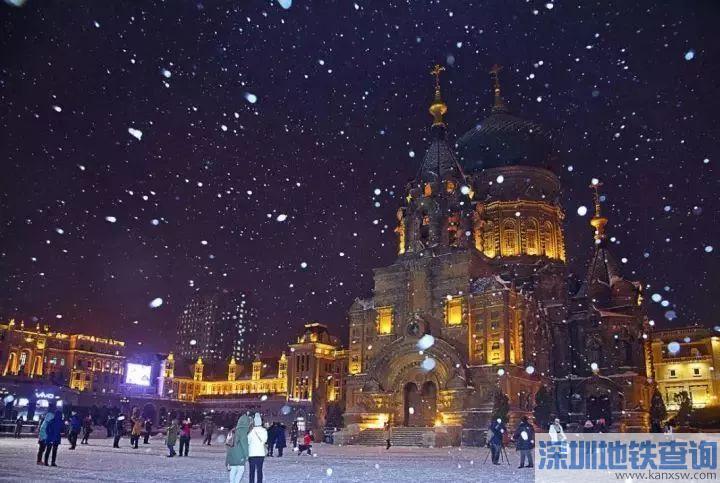 2018哈尔滨冰雪大世界公交专线运营线路、首末班时间、票价一览