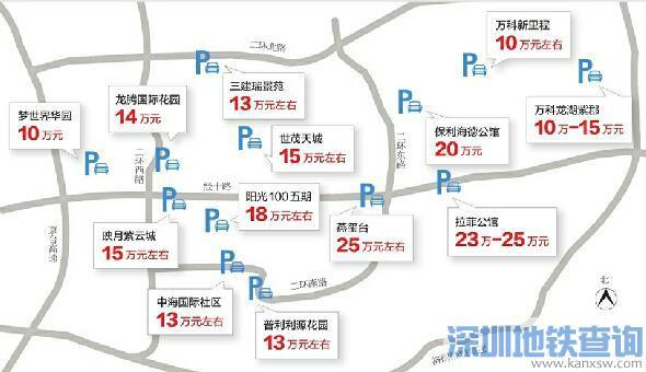 济南车位价格地图:中心区域20万元以上很常见