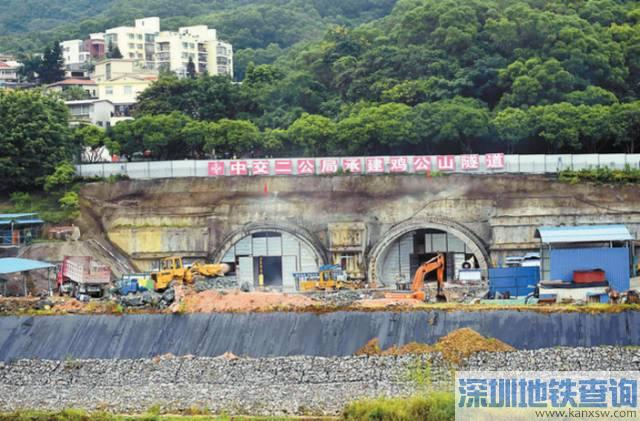 坂银大道预计2018年底通车 龙岗到福田只要12分钟