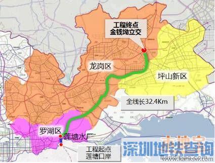 圳2017在建高速公路有3条 东部过境高速 深圳外环高速 沿江高速二期