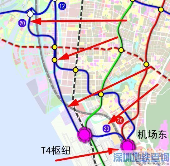 深圳地铁20号线线路图 站点 开通时间 2017最新进展