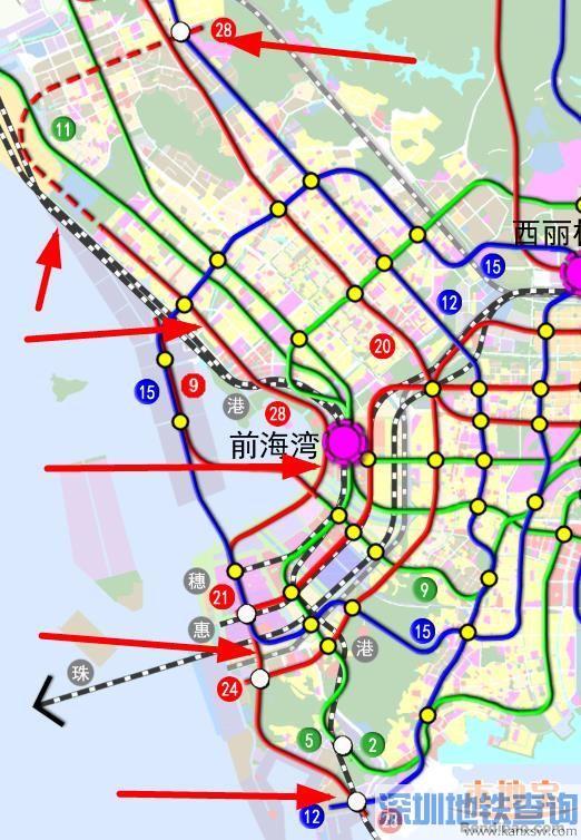 深圳地铁28号线(开工开通+站点+线路图+进展)