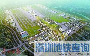 广州白云机场将设增高铁站 机场规划效果图及方案一览(图)