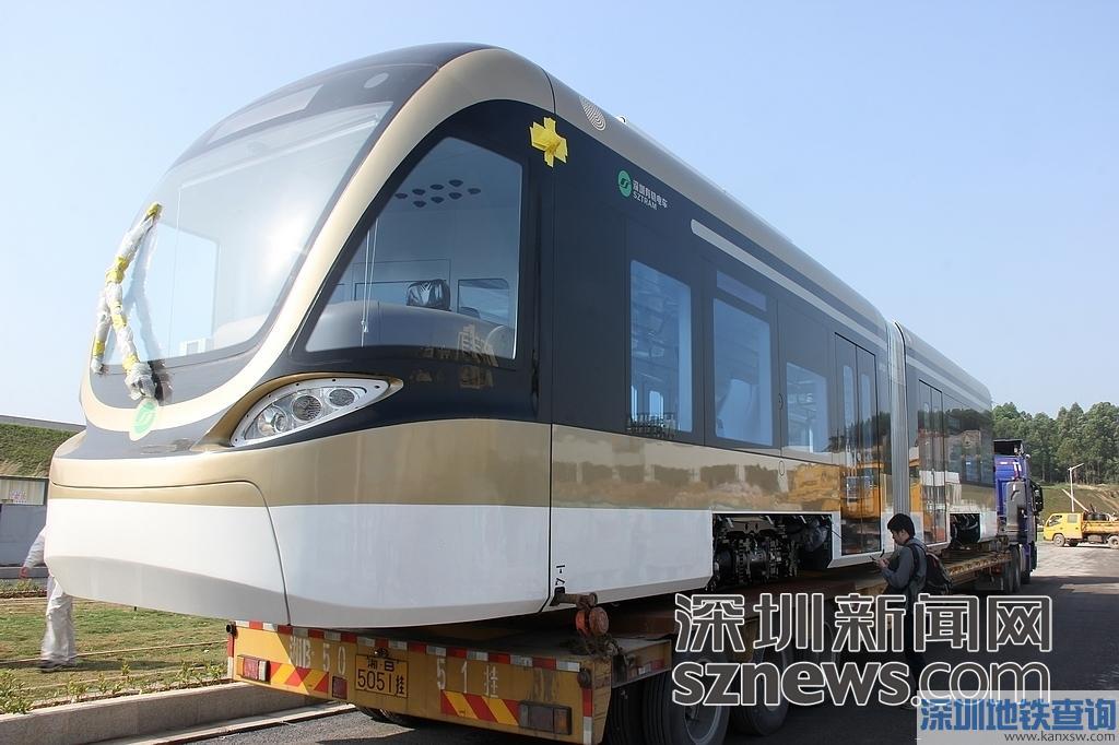 深圳龙华有轨电车来了! 3月底试跑6月底运营