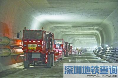 地铁8号线越江隧道施工中 越江区间超3000米