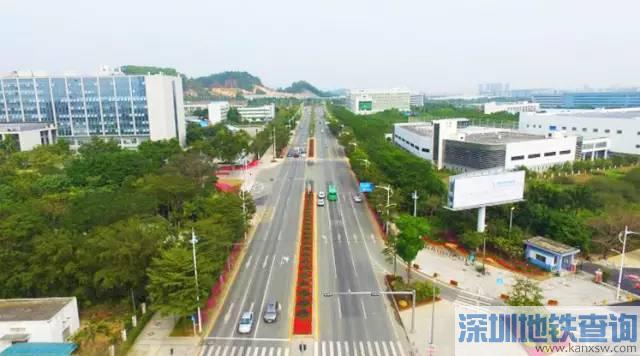深圳坪山大道将建双向8车道 与地铁14号线并行